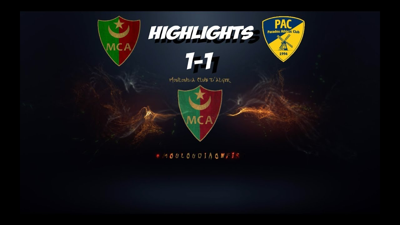 MCA-PAC 1-1 13-08-2018 Highlights