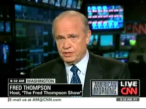 Fred Thompson: I want President Obama to fail