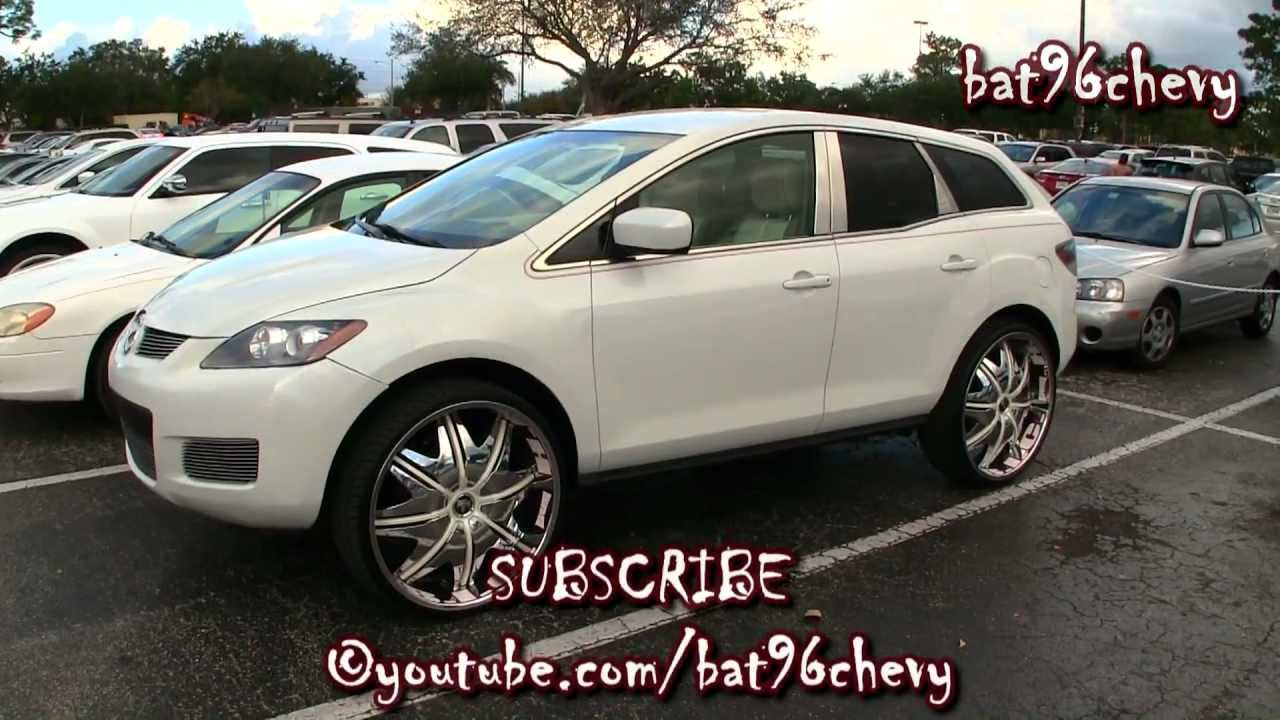 Mazda Cx7 On 26 Quot Dub Doggy Style Wheels 1080p Hd Youtube
