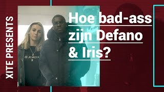 DEFANO & IRIS doen bad-ass DEN OF THIEVES stunts na | XITE Presents