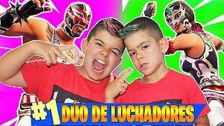 DÚO DE *LUCHADORES* EN FORTNITE!!! 50 vs 50 en PS4