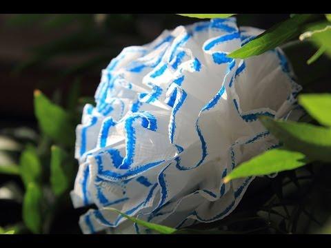 Цветы из ткани и лент (видео уроки) - смотреть онлайн