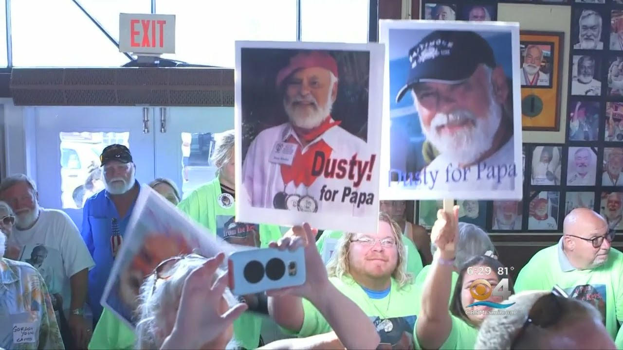 Papa Hemingways Converge On Key West