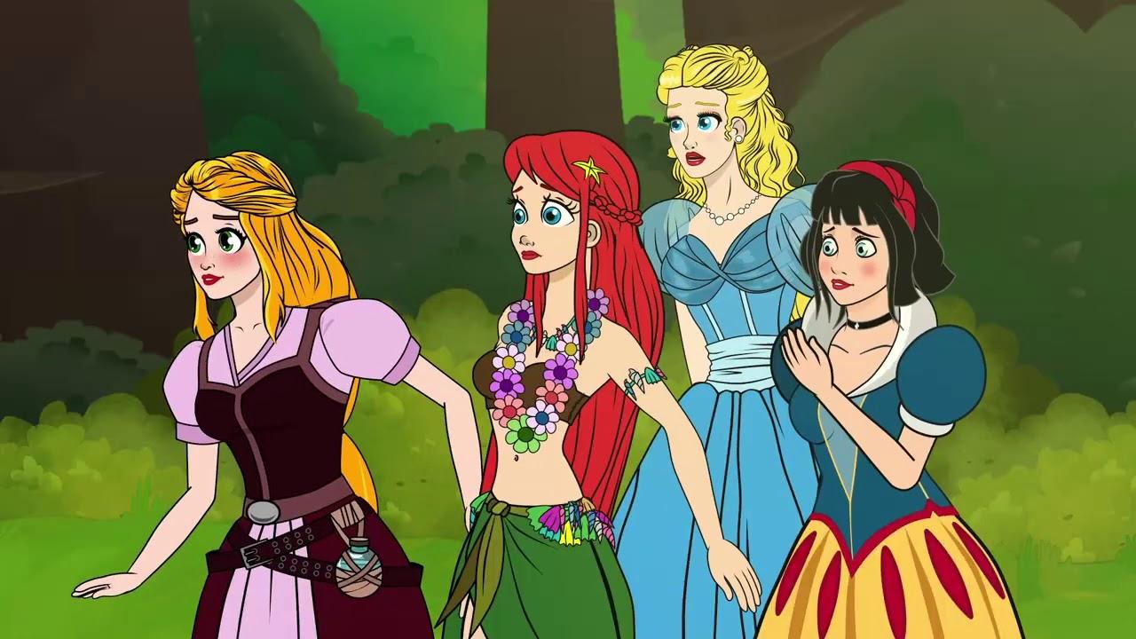 Rapunzel | Série Episódio 5 - E as Princesas contre as Fadas Malvadas  | Desenho animado