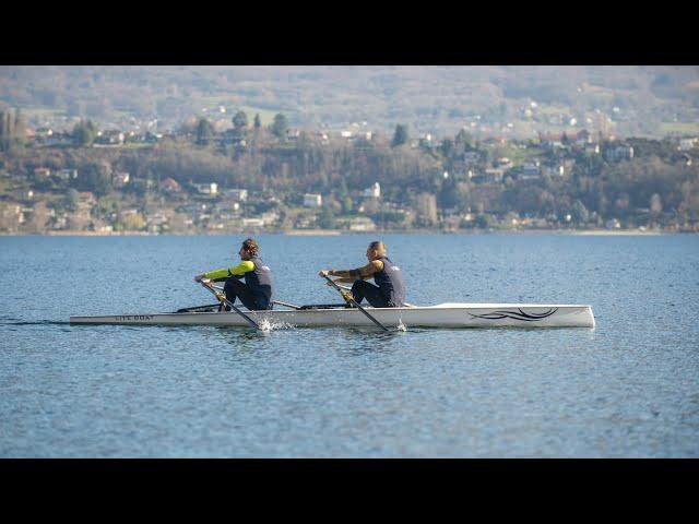 LiteDUO, le nouveau bateau d'aviron double pour les clubs et le loisir