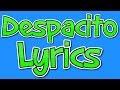Despacito - Luis Fonsi ft. Daddy Yankee, Justin Bieber (Remix) - Lyrics