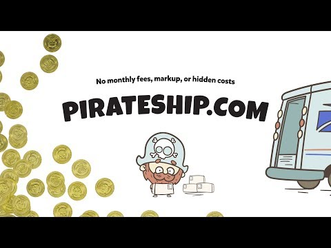 Free USPS shipping software - Pirate Ship