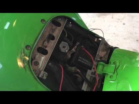 Step By Step Fix Kawasaki Zx6r Fi Light Staying On Youtube