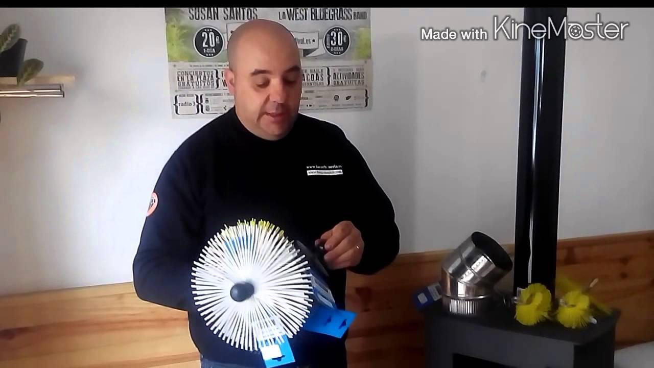 Erizos para limpiar chimeneas youtube - Chimeneas de pared ...