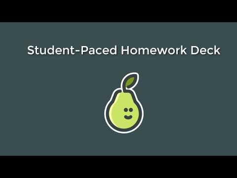 PearDeck Homework