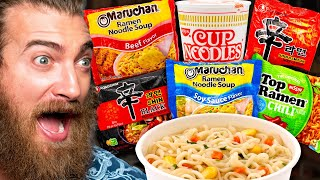 What's The Best Instant Ramen Noodle? (Taste Test)