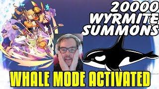20000 WYRMITE VS Halloween Elisanne! Whaling For Pumpkin Girl & Spending All My Money!