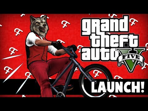 GTA 5: Launching Ourselves & Vehicles, RIP Baxter The BMX Bike! (Online - Comedy Gaming)