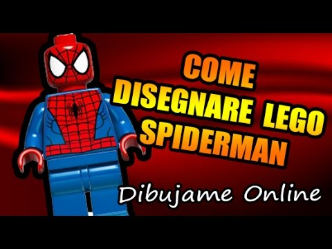 Come Disegnare Lego Spiderman Come Disegnare Lego Spiderman Passo