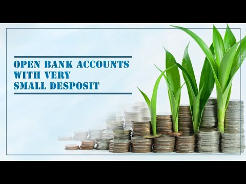 Offshore banks account| Open a bank account with very small deposit| Save company tax