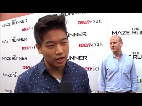 "The Maze Runner: Ki Hong Lee ""Minho"" Premiere Movie Interview"