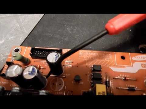 How To Fix A Samsung LCD TV That Has The Blinking Red Light On Standby