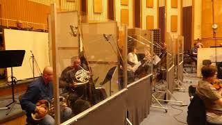 "Recording ""Un ange parmi les soupirs"" in Budapest (Alain Arias : violin solo)"