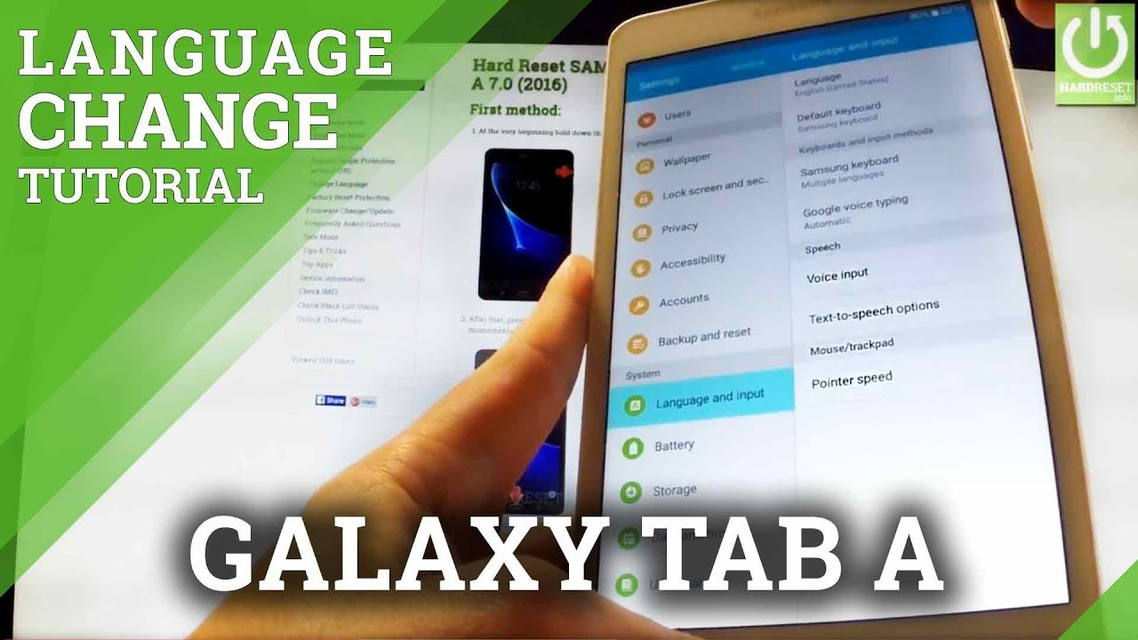 How to Change the Language Settings on Your Samsung Galaxy