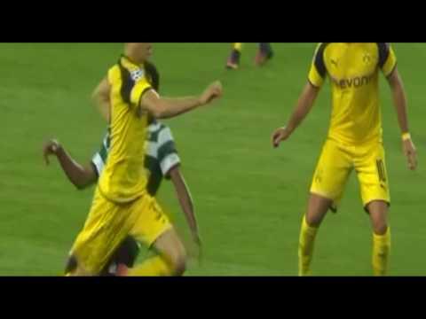 Sporting vs Borussia Dortmund 0-2 Julian Weigl Goal 2016