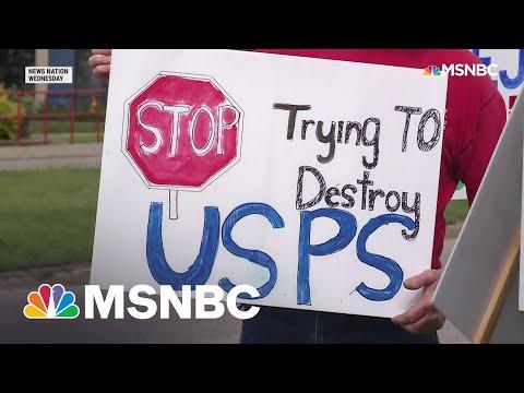 Postal Workers Rally Support To Block DeJoy's Plan To Weaken USPS