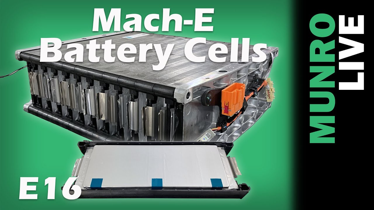 Mach-E: Battery Tray and Battery Cell Features