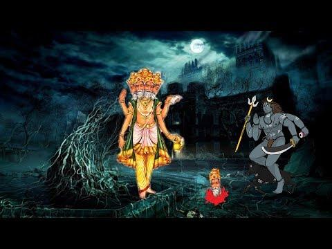 काल भैरव  ने क्यों काटा था ब्रह्मा जी का पांचवा शीश !!