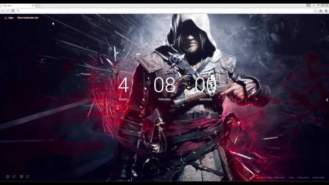Assassin's Creed Live Wallpaper - YouTube