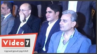 بالفيديو.. وصول رجل الأعمال أحمد أبو هشيمة لحضور سحور طلاب جامعة القاهرة