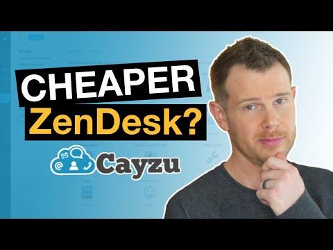 Need A CHEAPER Zendesk? Cayzu Help Desk Review