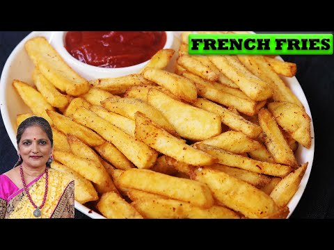 परफेक्ट फ्रेंच फ्राइज बनाने की सीक्रेट रेसिपी |How to Make Crispy French Fries Recipe | French Fries