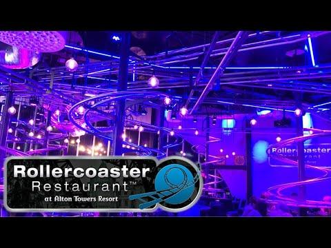 Alton Towers Rollercoaster Restaurant Vlog October 2017