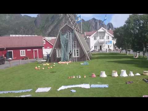 Lamholmenfestivalen 2016 - rigging