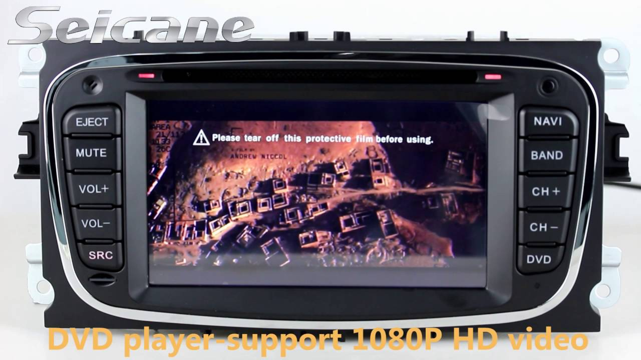 Android 4.4.4 2007-2010 Ford mondeo focus S-max gps navigation radio dvd  with Bluetooth music CANBUS 7e84fe5cc9c0