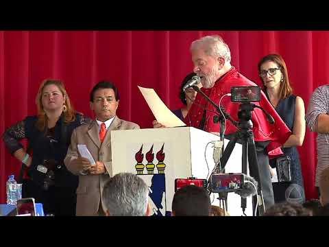 Ex-presidente Lula Visita Lagarto E Recebe Título Da UFS - JORNAL DO ESTADO