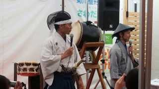 """名古屋城より徳川家康公が掛川本陣にお越しになられました。 陣太鼓を打ち鳴らすのは""""森ほたる 見にイベント""""にも参加してくれた岡田寛行さんです。 Heart Warm ..."""