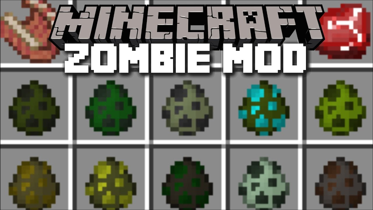 Minecraft Evil Zombie Mod Defend And Survival The Evil Lab
