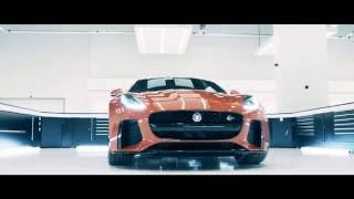 jaguar f type svr commercial