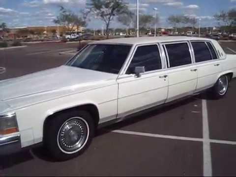 1987 Cadillac Limousine Youtube