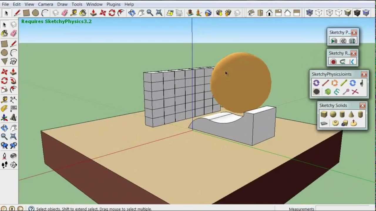How to Add Physics to Google Sketchup
