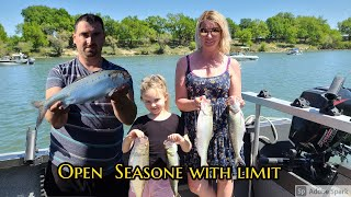 Shad fishing Open Season 2021