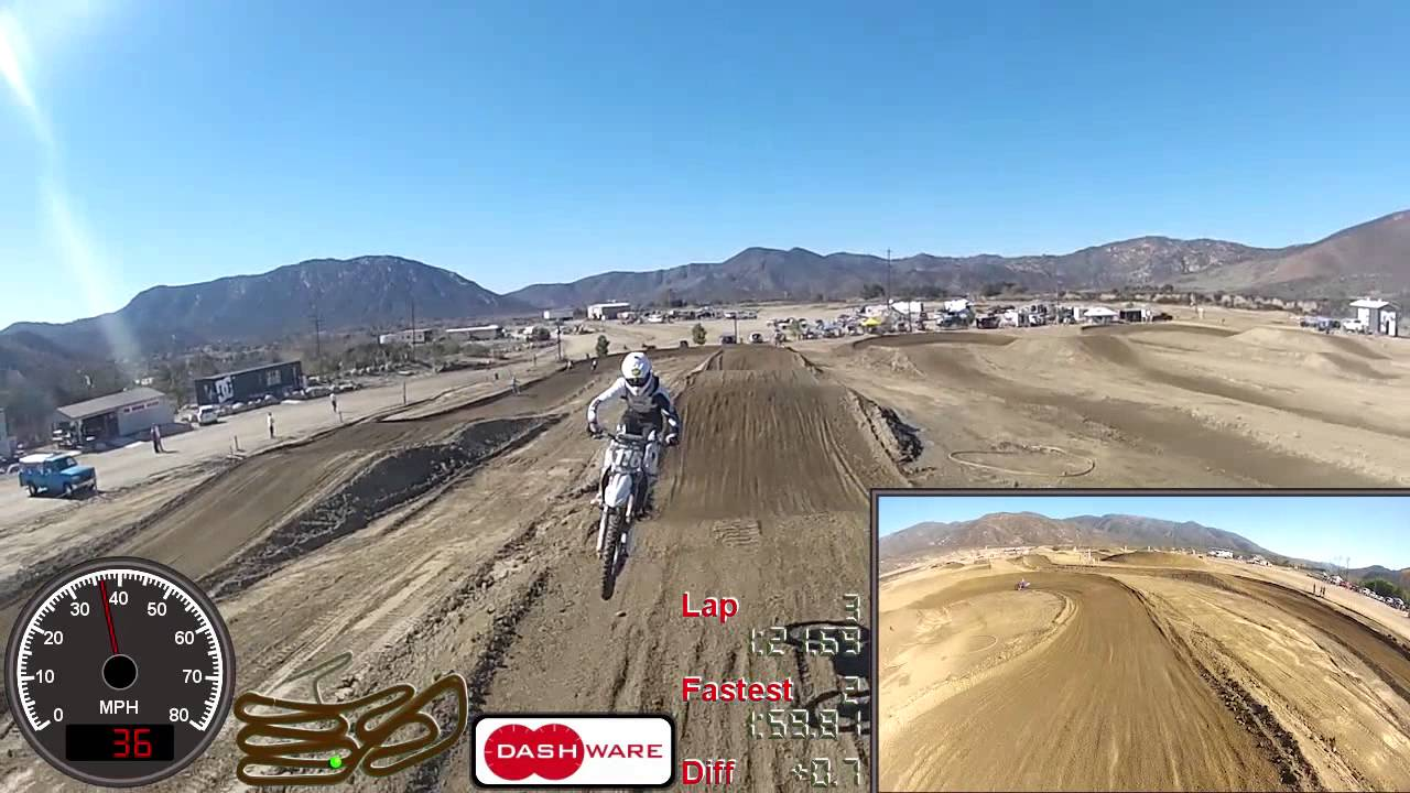 Race Videos from Pala with Picture-in-Picture, Front/Rear +