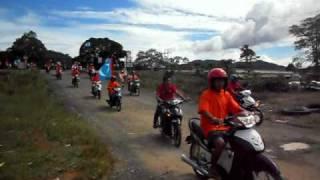 Konvoi belia PKR Kg Entilibon 1, Tongod Sabah Part 2. 2hb Oktober 2010