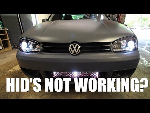 How to Fix HIDs that Aren't Working Properly
