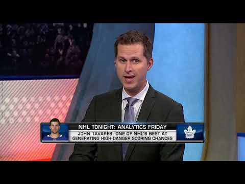 NHL Tonight:  Tavares and Matthews:  Discussing the analytics of Tavares and Matthews  Aug 24,  2018