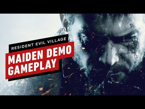 Resident Evil Village: Maiden Demo Gameplay