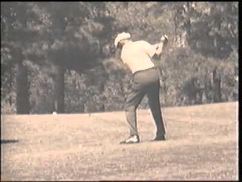 ben hogan golf swing augusta youtube