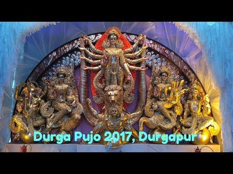 172. Top 10 Durga Pujo 2017, Durgapur. পুজো পরিক্রমা ২০১৭, দুর্গাপুর, পশ্চিম বর্ধমান।