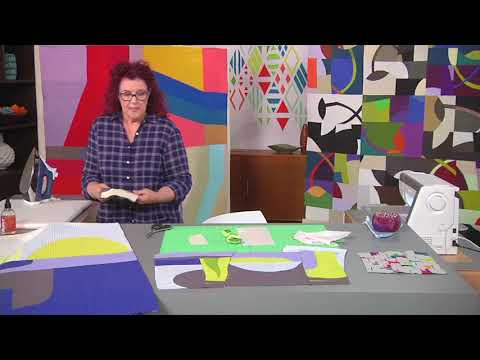 Cut, Piece And Sew Curves Without A Ruler On Fresh Quilting With Leslie Tucker Jenison (212-3)