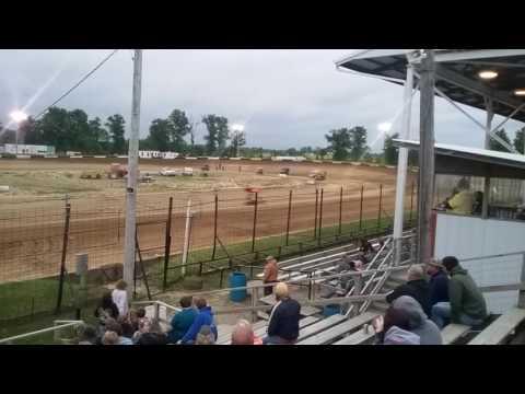 POWRi Micro Sprints Heat 3  Fayette County Speedway